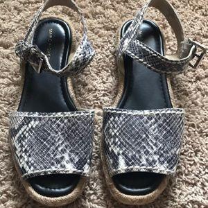 Marc Fisher Snakeskin Sandal